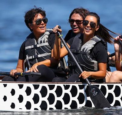 Kardashians - Dragon Boat Racing