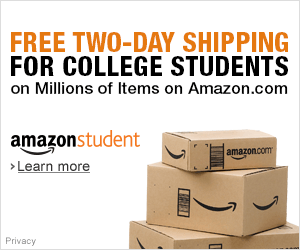 Free College 2 Day Shipping