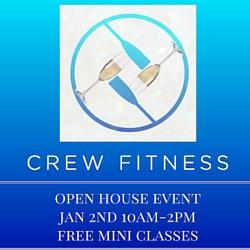 crew fitness open house