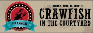 7th Annual Crawfish in the Courtyard