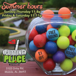 The Putting Place_Summer Hours