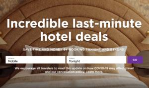 Book a Last Minute Hotel