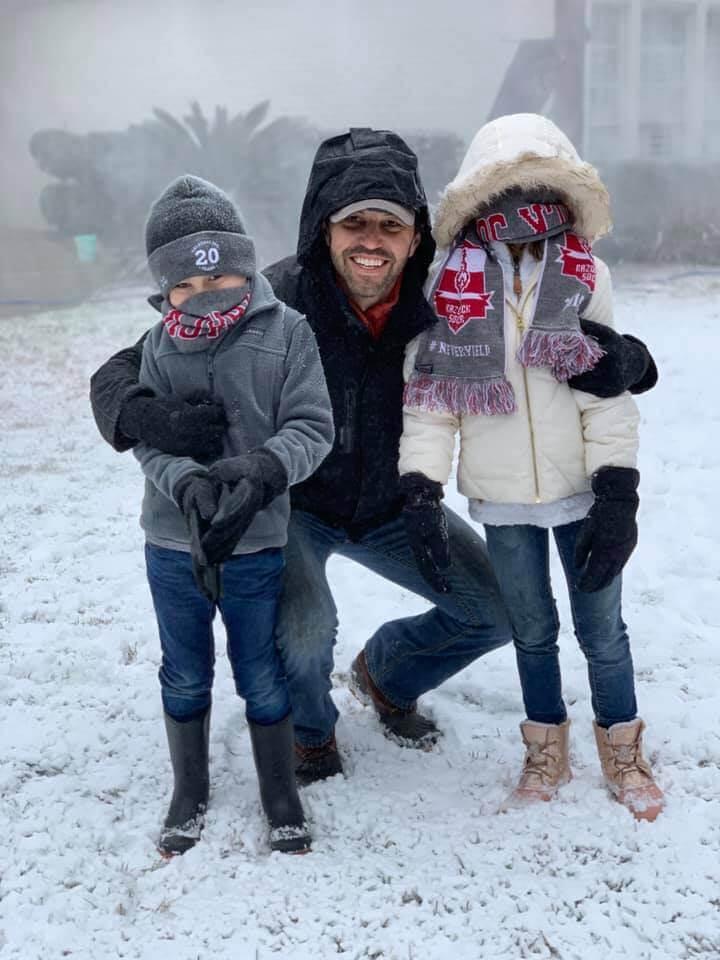 mobile alabama dad makes snow machine