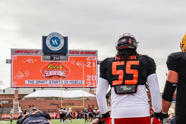 in this weeks rundown-Reese's Senior Bowl in Mobile, Market in the Park, and Foster Together
