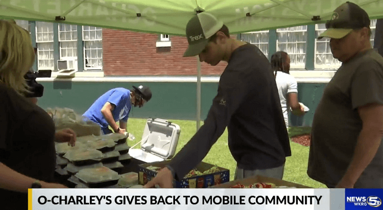 O'Charley's gives free food to Wings of Life residents, staff