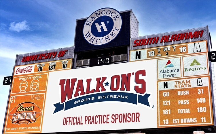 Walkons Made a Sponsor of Reese's Senior Bowl
